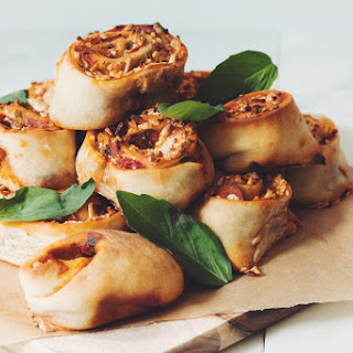 Vegan Pizza Buns →