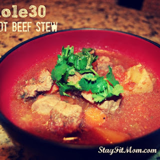 Whole30 Crock-pot Beef Stew.