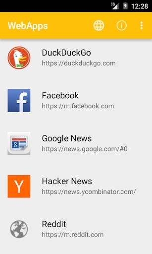 WebApps Sandboxed Browser v2.23 screenshots 1