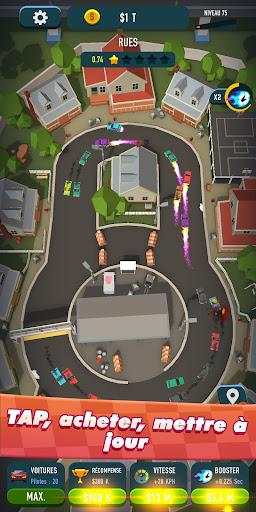 Code Triche Idle Race Rider u2014 Car tycoon simulator APK MOD screenshots 4