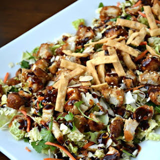 General Tso's Wings Asian Chicken Salad.