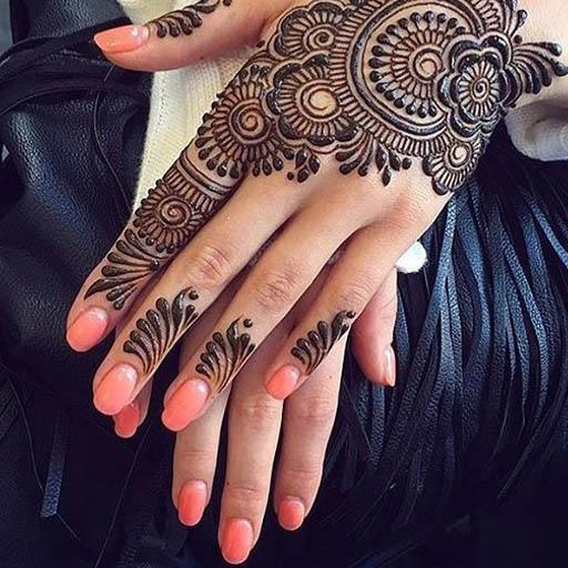 Easy Henna Designs Circle Mehndi For Girls Apps On Google Play