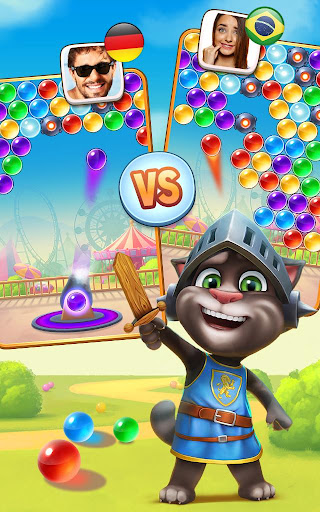Talking Tom Bubble Shooter screenshot 14