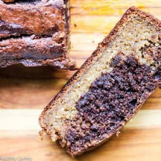 Gluten-Free Banana Chocolate Peanut Butter Quick Bread.