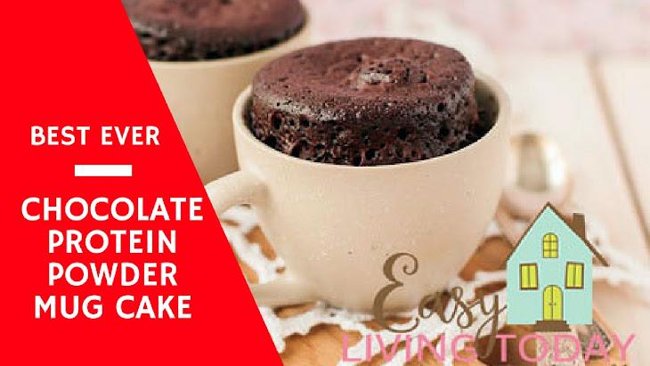 Protein Powder Mug Cake Recipe