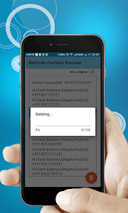Dublicate Contact Remover Duplicate free - náhled