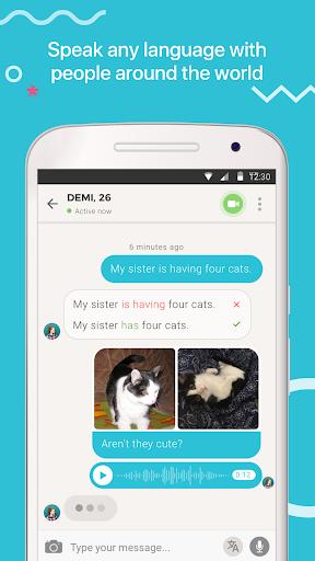 Tandem Language Exchange: Speak any language 1.7.7 screenshots 3
