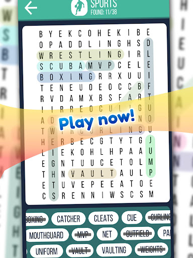 Word Search 2019: Word searching game for free screenshot 19