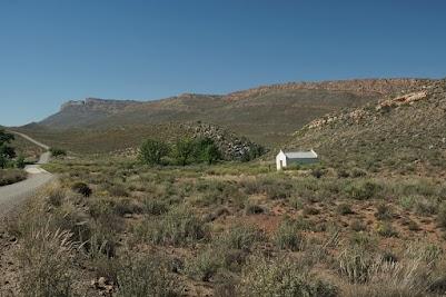 Einsames altes Haus in den Cederbergen