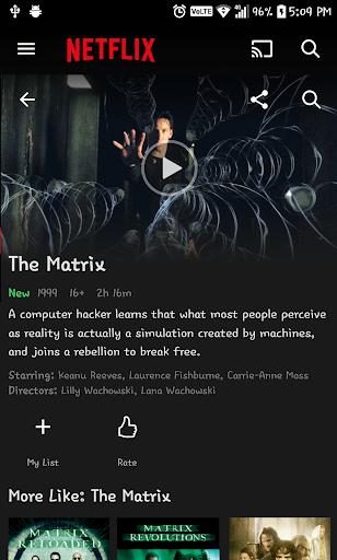 Search Netflix film in IMDb 2.3 screenshots 1