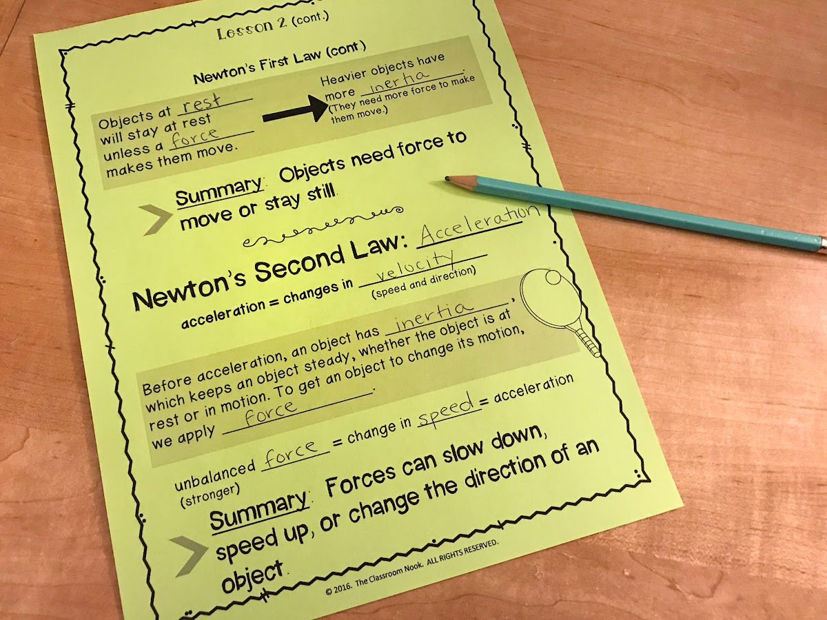 Teach students about Newton's Laws of Motion using videos from Study Jams