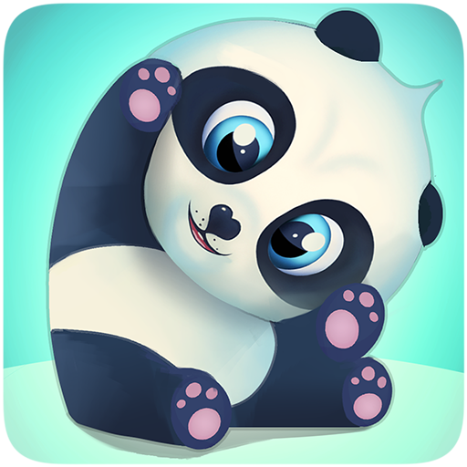 Pu - Cute giant panda bear, baby pet care game app (apk) free download for Android/PC/Windows