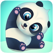 Pu - Cute giant panda bear, baby pet care game