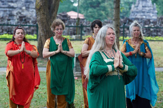 Photo: Prambanan temple, Tara dance at Candi Sewu and sharing a   meditation session in Plaosan temple. Such a wonderful   program for the very last day of the 14th Sakyadhita   Conference here in Indonesia! Next conference will take   place in Hong Kong in 2017. Photos courtesy of Olivier Adam.