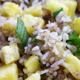 Ginger Pineapple Fried Rice.