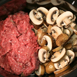 Bring Ground Beef And Mushroom Together In A Slow Cooker For Hearty Favorite
