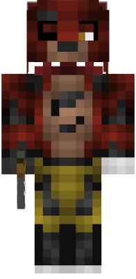 I edited the remix foxy skin. And added an eyepatch and his hook (it was an iron hoe).