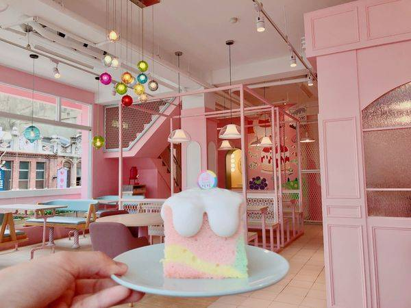 斗六✿Immense 恬恬✿公主系夢幻粉嫩空間 配上藍帶主廚的法式甜點!