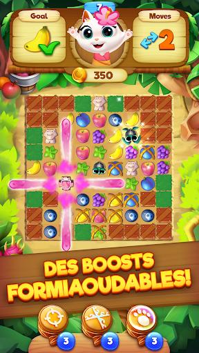 Code Triche Tropicats: Un Jeu de Chat Gratuit Match 3 Puzzle APK MOD screenshots 2