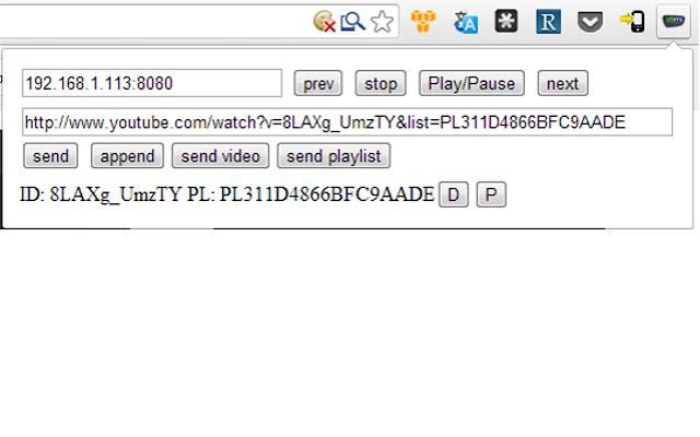 XBMC video pusher