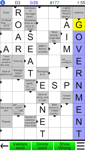 Arrow Crossword 2.0 screenshots 1