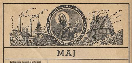 Photo: Winieta karty w Kalendarzu Gościa Niedzielnego na 1947 rok. Grafika wykonana przed 1938 r.