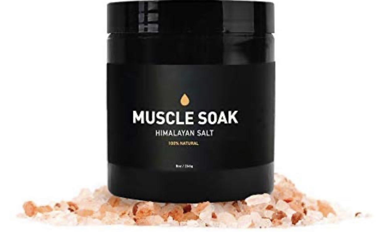 Muscle Soak himalayan salt.