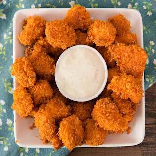 3 Ingredient Popcorn Chicken.