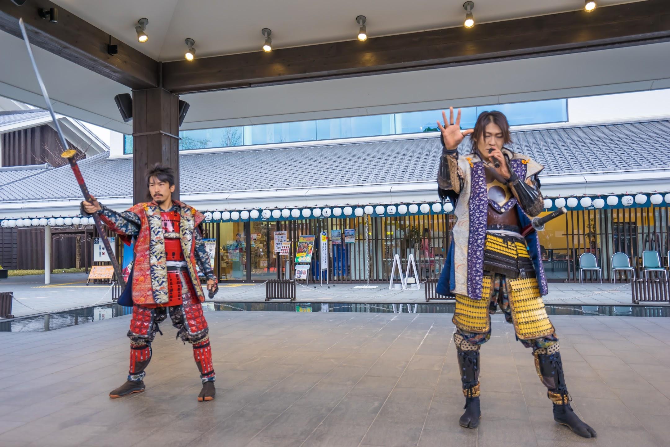 城彩苑 熊本城おもてなし武将隊の演舞1