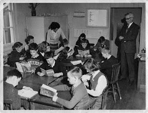 Photo: Mr Read's Class Wateringbury C of E School 1961/2