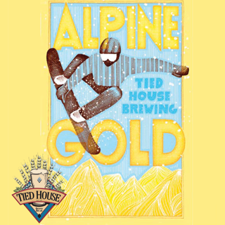 Logo of Tied House Alpine Gold