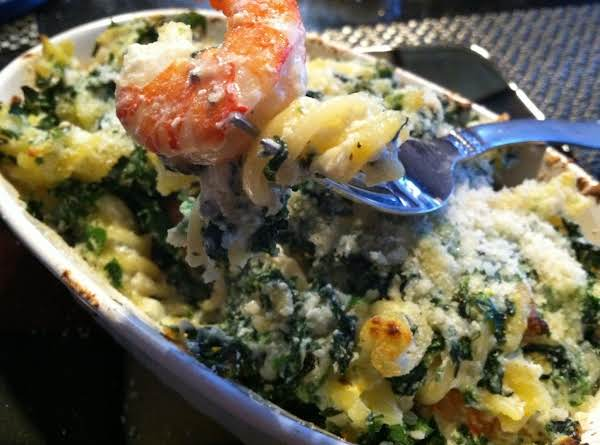 Shrimp N Pasta Bake Recipe