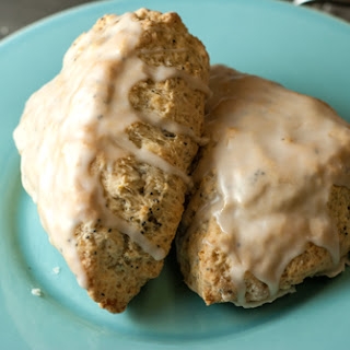 Meyer Lemon Poppyseed Scones