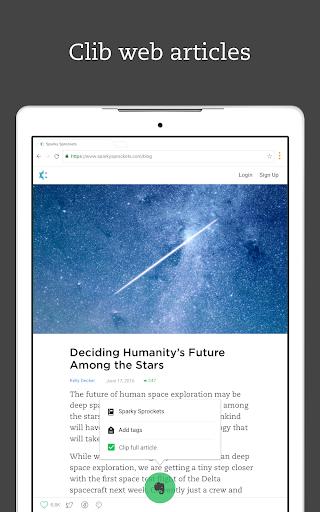 Evernote – Organizer, Planner, Notebook screenshot 15