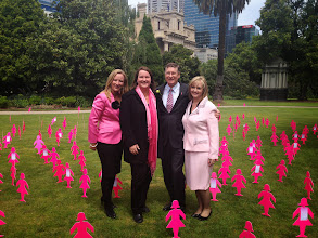 Photo: 2013 Mini Field of Women at Parliament House