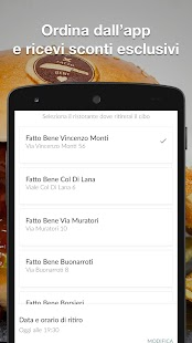 Fatto Bene Burger- miniatura screenshot