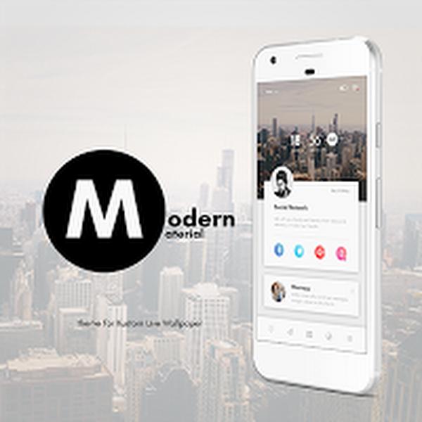 Modern Material Theme for KLWP v1.3