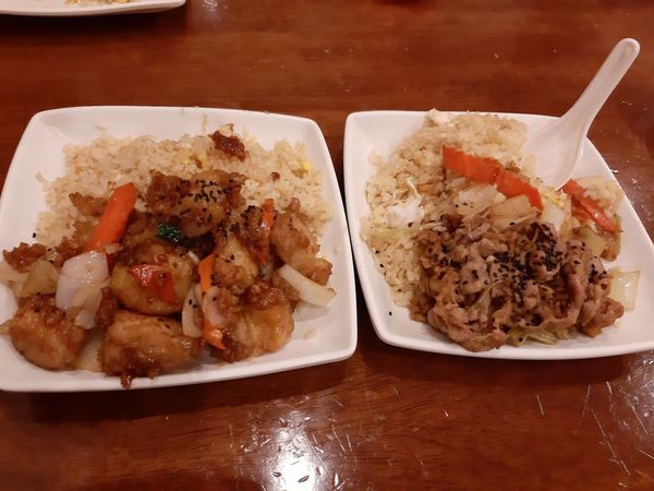 北平路粒粒分明好吃不油膩的炒飯~明治高纖現炒館