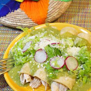 How to make Creamy Roasted Poblanos Enchiladas