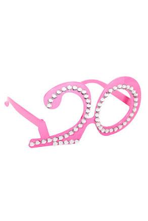Glasögon 20, rosa