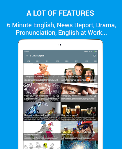 Learn English Listening: Learning English Podcast 4.4.1 screenshots 8