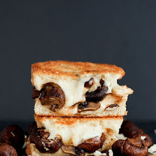 The Swiss Mushroom Melt Grilled Cheese