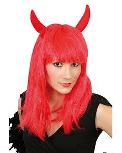 Djävulsperuk, röd