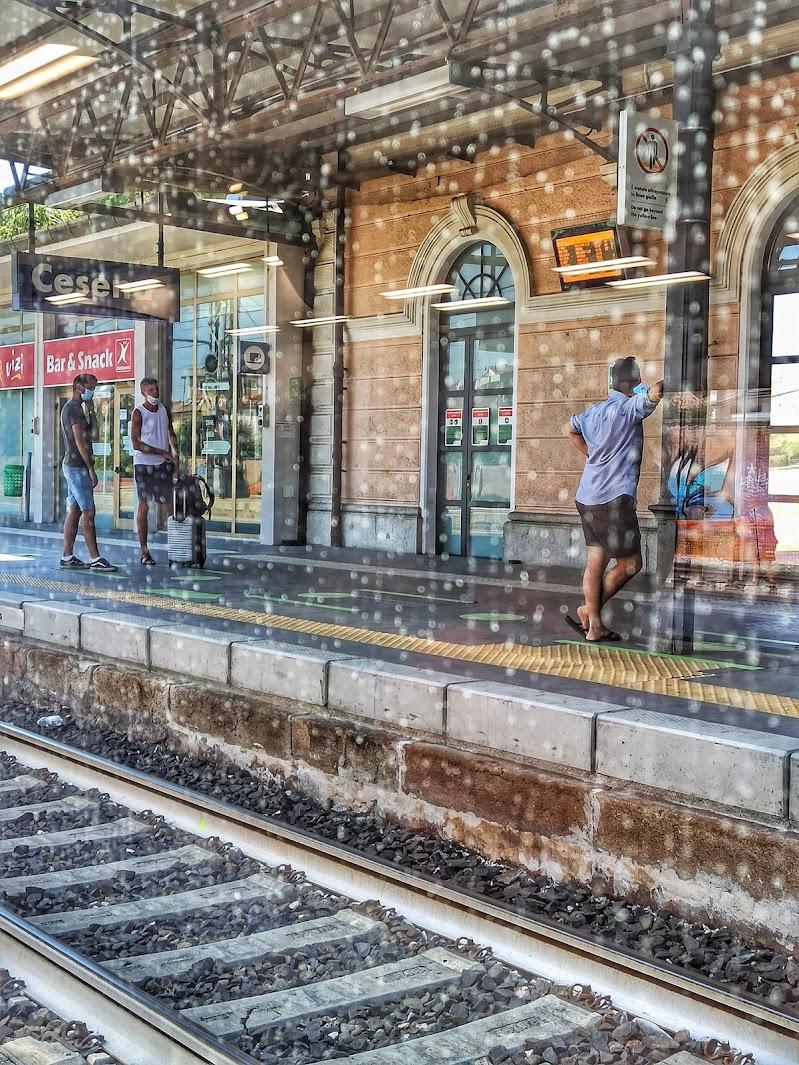 Dal finestrino  del treno  di Mony68