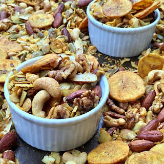 Oven-Baked Grain-Free Party Mix.
