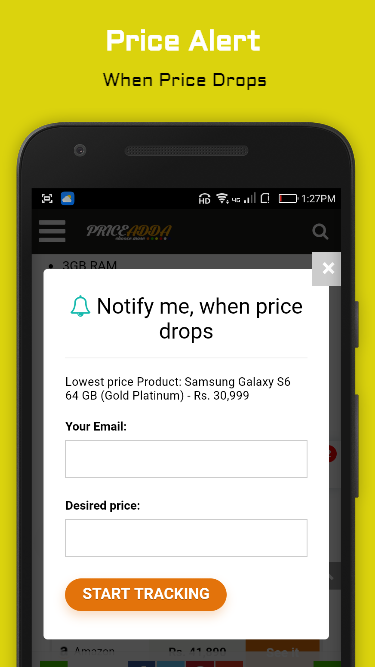 PriceAdda-Price Comparison App- screenshot