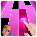 yolo aventuras game piano Tiles icon