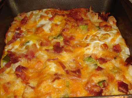 Bacon and Egg Breakfast Casserole Recipe