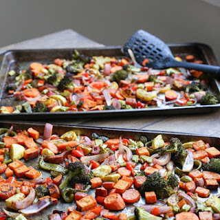 Crowd-Pleasing Roasted Vegetables.