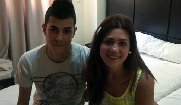 Noemi y Carlos una super pareja amateur de estudiantes universitarios de Sevilla